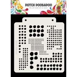 DUTCH DOOBADOO STENCIL MASK ART BLOBS