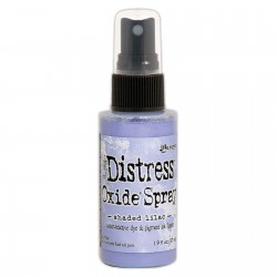 Tim Holtz distress oxide SPRAY SHADED LILAC