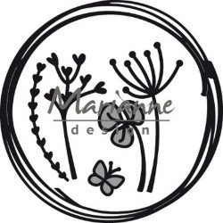 MARIANNE DESIGN CRAFTABLES  DOODLE CIRCLE