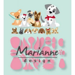 MARIANNE DESIGN COLLECTABLES ELINES PUPPY