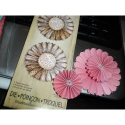 TIM HOLTZ ALTERATIONS PAPER ROSETTE