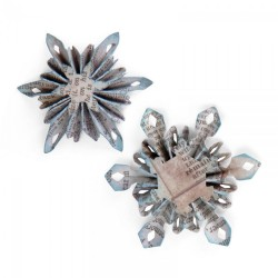 TIM HOLTZ ALTERATIONS MINI SNOWFLAKE ROSETTE