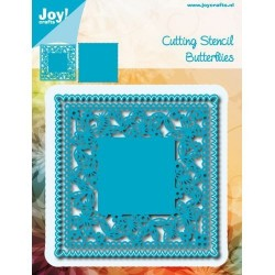 JOYCRAFTS! BUTTERFLIES SQUARE