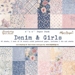 MAJA DESIGN DENIM & GIRLS PAPER PACK