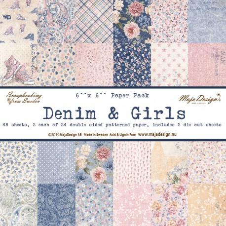 MAJA DESIGN DENIM & GIRLS PAPER PACK