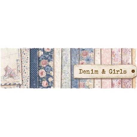 MAJA DESIGN DENIM & GIRLS COLLECTION 16 FEULLES
