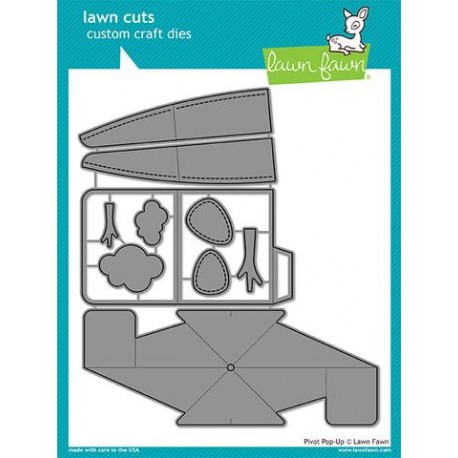 LAWN FAWN CUTS  PIVOT POP UP