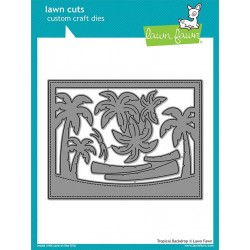 LAWN FAWN CUTS TROPICAL BACKDROP