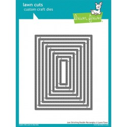 LAWN FAWN CUTS JUST STITCHING DOUBLE RECTANGLES