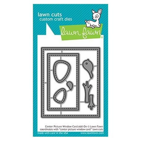 LAWN FAWN CUTS CENTER PICTURE WINDOW CARD ADD-ON