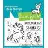LAWN FAWN A LITTLE SPARKLE CLEAR STAMPS