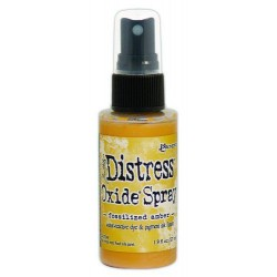 Tim Holtz distress oxide SPRAY FOSSILIZED AMBER