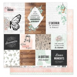 FLORILEGES DESIGN Kit collection LA MAISON DE JEANNE, 30.5 x 30.5 cm