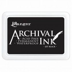 RANGER ARCHIVAL INK JET BLACK