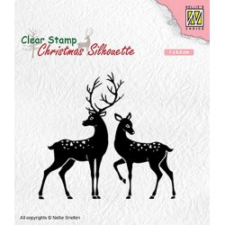 NELLIES CHOICE CLEARSTAMP DEER