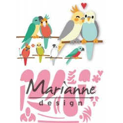 MARIANNE DESIGN COLLECTABLES BIRDS