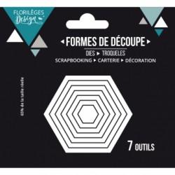 OUTIL DE DECOUPE HEXAGONES