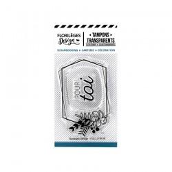 Tampons Clear ETIQUETTE POUR TOI  CAPSULE JUILLET 19
