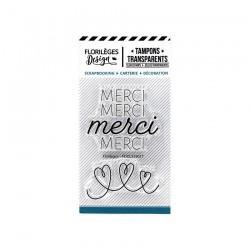Tampons Clear MERCI DE TOUT COEUR  CAPSULE JUILLET 19