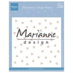 Marianne D Embossing folder MARJOLEINE'S DOTS ENV. 15 X 15 CM