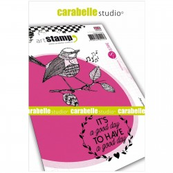 Carabelle cling stamp A6 It's a Good day