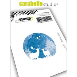 Carabelle cling stamp CIEL DE NOEL