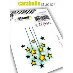 Carabelle cling stamp ETOILES par La Rafistolerie
