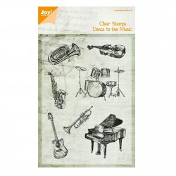 JOYCRAFTS! CLEAR STAMPS DANCE TO THE MUSIC