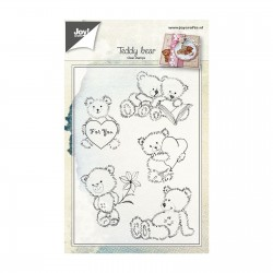 JOYCRAFTS! CLEAR STAMPS TEDDY BEAR