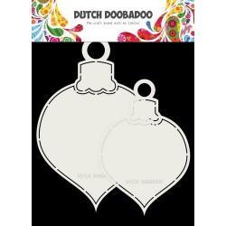 Dutch Doobadoo Fold card art  2x BOULES DE NOEL max 13x19cm 470.713.721