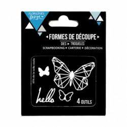 OUTIL DE DECOUPE HELLO BUTTERFLY