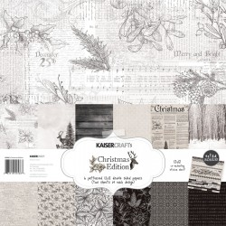 KAISERCRAFT CHRISTMAS EDITION COLL PACK, 30,5 X 30,5 CM