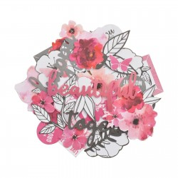 Kaisercraft MAGENTA Collectables Cardstock Die-Cuts