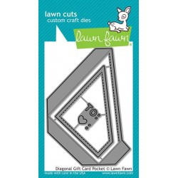 LAWN FAWN CUTS DIAGONAL GIFT CARD POCKET