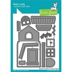 LAWN FAWN CUTS BUILD A HOUSE