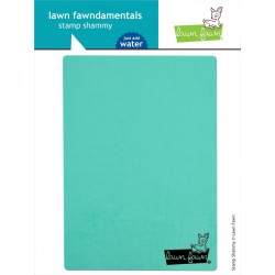 LAWN FAWN stamp shammy, TISSUS NETTOYAGE TAMPON