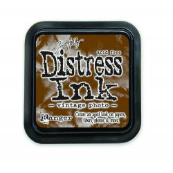 DISTRESS INK vintage photo