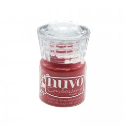 NUVO EMBOSSING POWDER SPORTSCAR RED