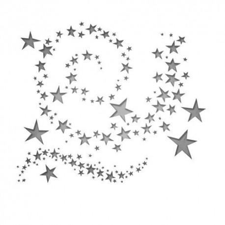 SIZZIX THINLITS TIM HOLTZ SWIRLING STARS