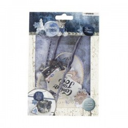Studio Light EASY DIE CUT PAPER SET 656, SNOWY AFTERNOON