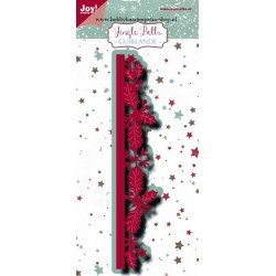 JoyCrafts DIES JINGLE BELLS GUIRLANDE BORDER