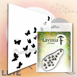 Lavinia Stamps FLUTTERBIES