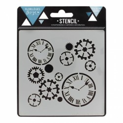 FLORILEGES DESIGN STENCIL AU FIL DU TEMPS