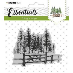 STUDIO LIGHT CLING STAMP ESSENTIALS CHRISTMAS 11