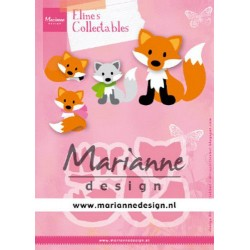 MARIANNE DESIGN COLLECTABLES ELINE'S CUTE FOX