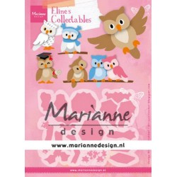MARIANNE DESIGN COLLECTABLES ELINE'S OWL