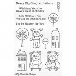 TOWN BEAR CLEAR STAMPS