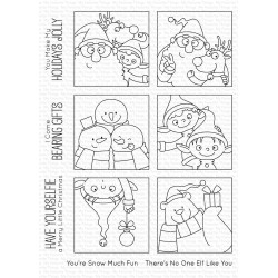MFT  CLEAR STAMPS CHRISTMAS SELFIES