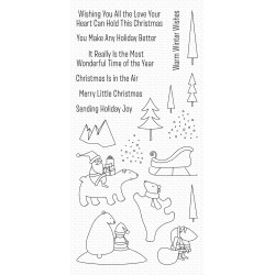 MFT CLEAR STAMPS MERRY MOMENTS