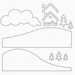 MFT  DIE NAMICS SNOWY SCENE BUILDER